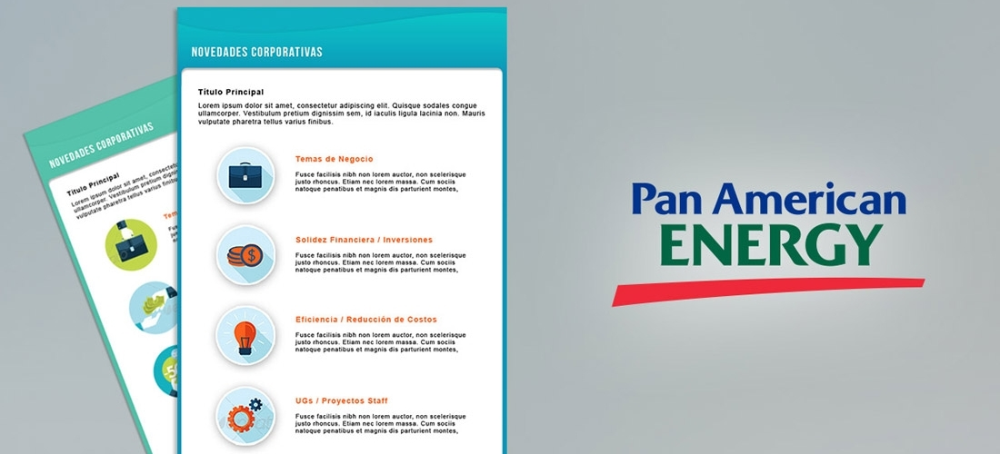 PAN AMERICAN ENERGY – NEWSLETTERS